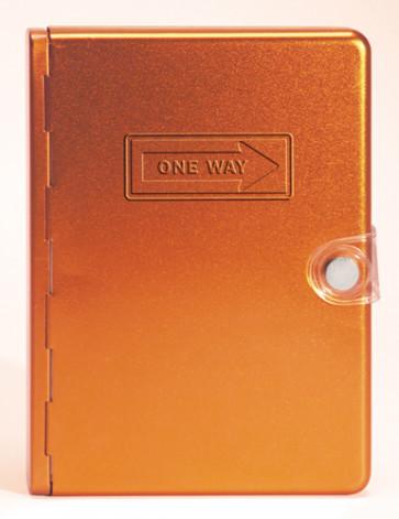 Metal Bible NLT: Orange One Way - Other book format Orange