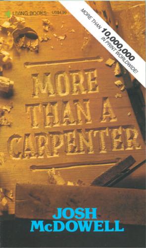 More Than a Carpenter repkg 1 - Softcover