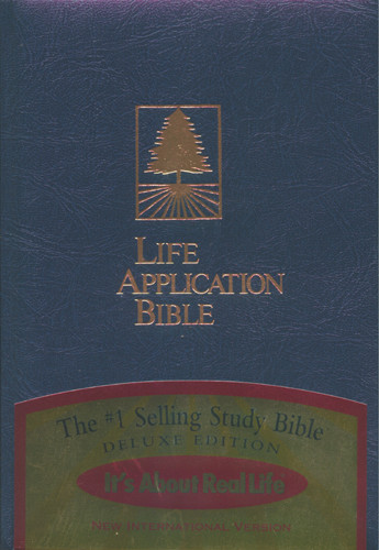Life Application Bible: NIV - Hardcover Blue