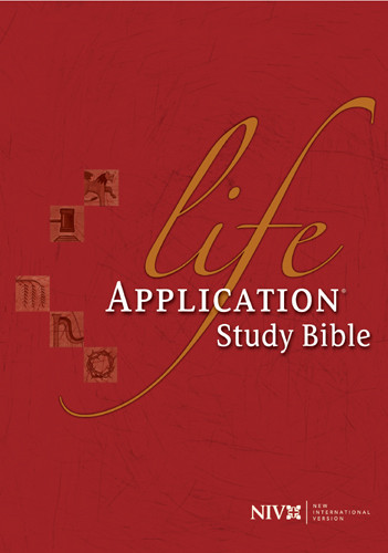 Life Application Study Bible: NIV84 - Hardcover With printed dust jacket