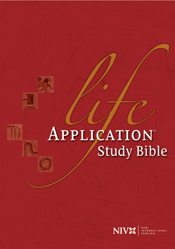 Life Application Study Bible: NIV84 - Hardcover With printed dust jacket and thumb index