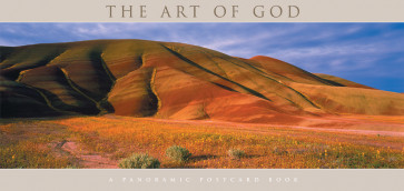 The Art of God Panoramic Postcard Book - Softcover