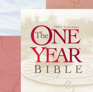 The One Year Bible 2002 Calendar - Calendar