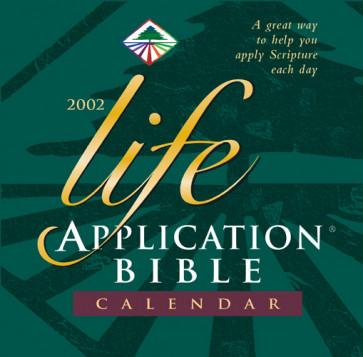 Life Application Bible 2002 Calendar - Calendar