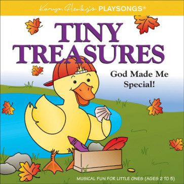 Tiny Treasures : God Made Me Special - CD-Audio