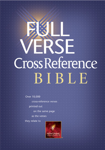Full Verse Cross Reference Bible: NLT1 - Hardcover