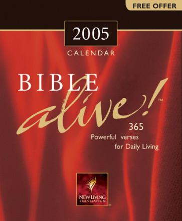 Bible Alive! 2005 Calendar - Calendar