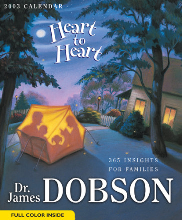 Heart to Heart 2003 Calendar : 365 Insights for Families - Calendar