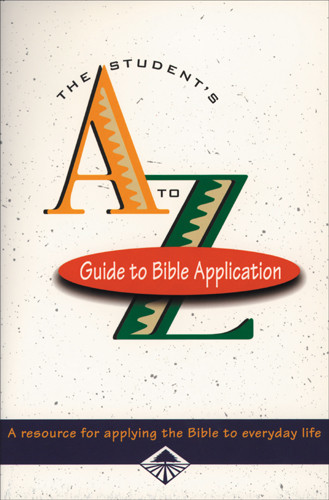 Student's A-Z Guide to Bible Application - Softcover