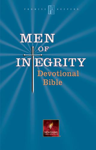 Men of Integrity Devotional Bible: NLT1 - Hardcover