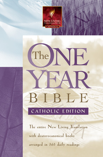 The One Year Bible - Catholic: NLT - Softcover