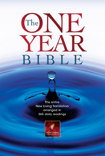 The One Year Bible Compact Edition: NLT1 - Hardcover With printed dust jacket