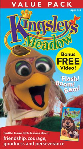 Kingsley's Meadow Value Pack - VHS video