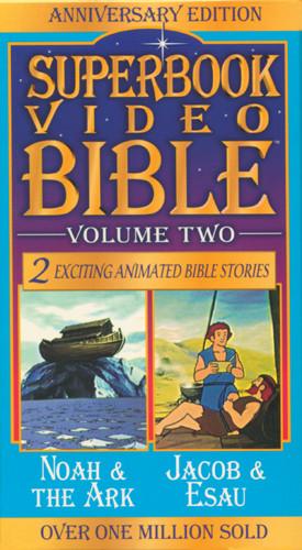 Noah & the Ark / Jacob & Esau - VHS video