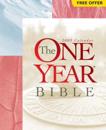 The One Year Bible 2005 Calendar - Calendar