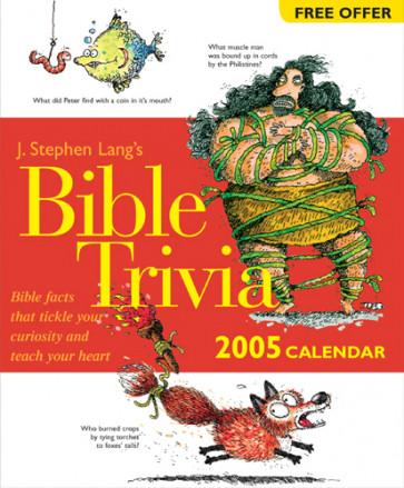 Lang's Bible Trivia 2005 Calendar - Calendar