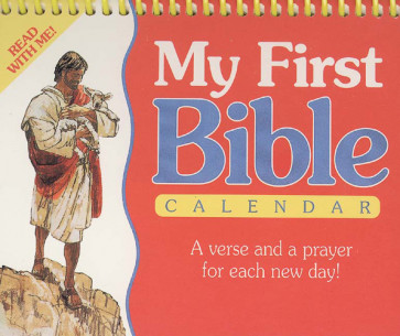 My First Bible in Pictures Calendar - Calendar