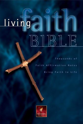 Living Faith Bible: NLT1 - Hardcover