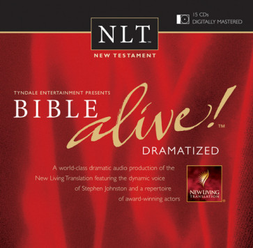Bible Alive! New Testament - CD-Audio Imitation Leather,