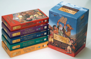 Kids Ten Commandments 1-5 Video Gift Set - VHS video