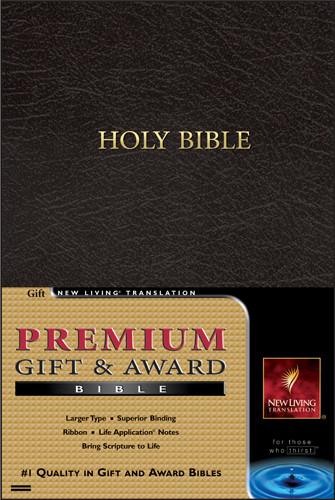 Premium Gift and Award Bible: NLT1 - Imitation Leather Black