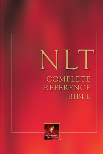 NLT Complete Reference Bible: NLT1 - Hardcover With printed dust jacket