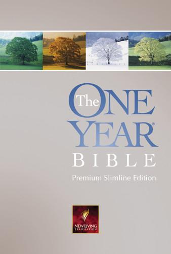 The One Year Bible Premium Slimline: NLT1 - Hardcover