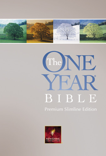 The One Year Bible Premium Slimline: NLT1 - Softcover