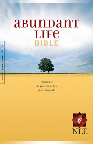 Abundant Life Bible NLT - Hardcover