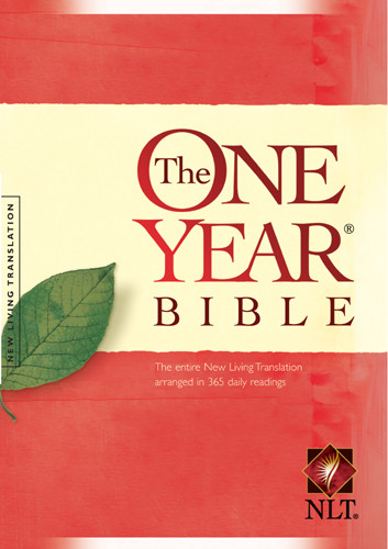 The One Year Bible NLT - Hardcover With printed dust jacket