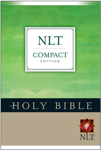 Compact Edition Bible NLT - Hardcover With printed dust jacket