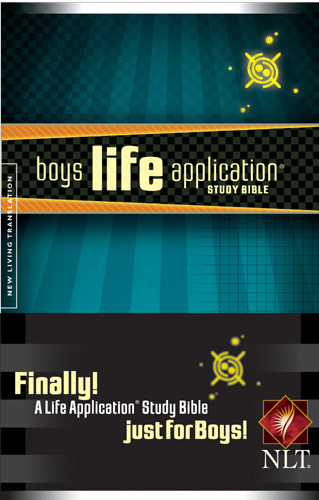 Boys Life Application Study Bible NLT - Softcover