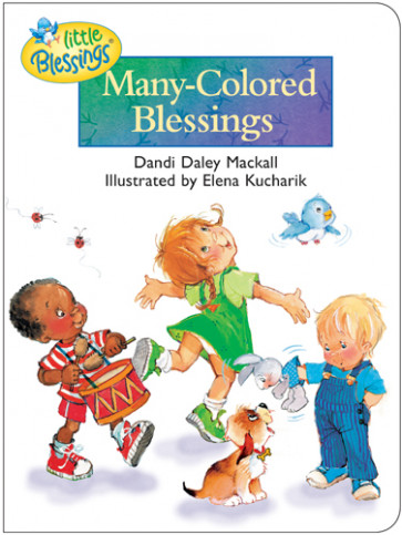 Many-Colored Blessings - Board book