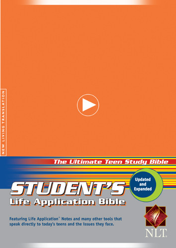 Student's Life Application Study Bible: NLT - Hardcover Orange