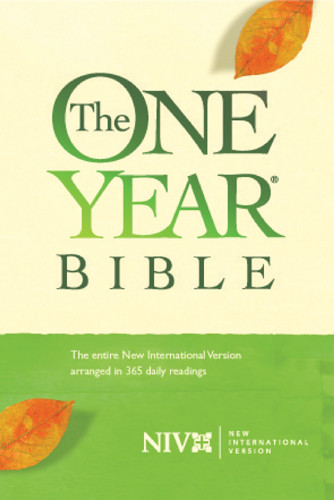 The One Year Bible: NIV84 - Hardcover