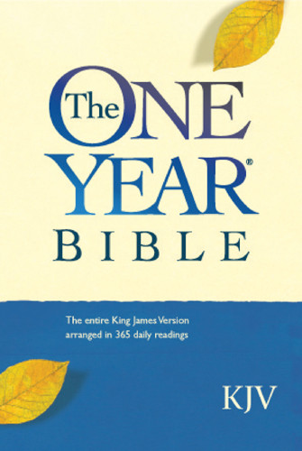 The One Year Bible Compact Edition KJV - Hardcover