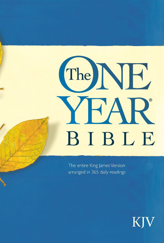 The One Year Bible KJV - Hardcover
