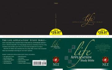 Life Application Study Bible Anniversary Edition NLT - Hardcover