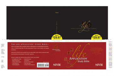 Life Application Study Bible Anniversary Edition NIV - Hardcover