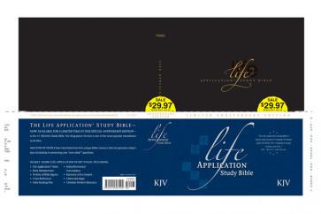 Life Application Study Bible Anniversary Edition KJV - Hardcover