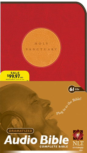 Holy Sanctuary, Bible on CD Dramatized OT/NT NLT - CD-Audio Imitation Leather,