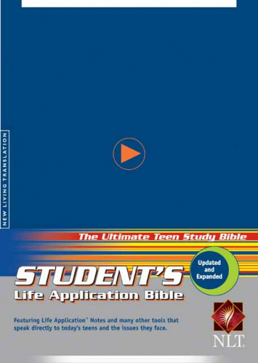 Student's Life Application Bible NLT - Softcover Blue