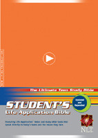 Student's Life Application Bible NLT - Softcover Orange