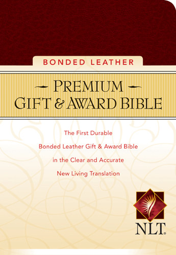 Premium Gift and Award Compact: NLT - Bonded Leather Burgundy