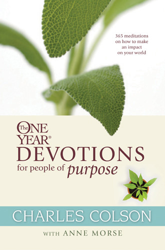 The One Year Devotions for People of Purpose - Softcover
