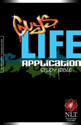 Guys Life Application Study Bible NLT - Hardcover