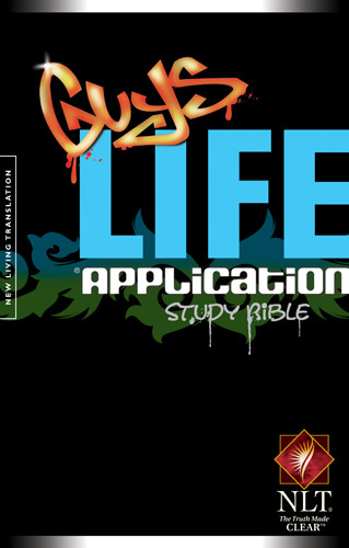 Guys Life Application Study Bible NLT - Softcover
