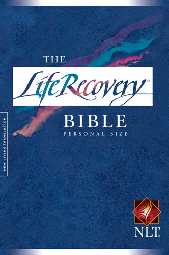 The Life Recovery Bible NLT, Personal Size - Hardcover
