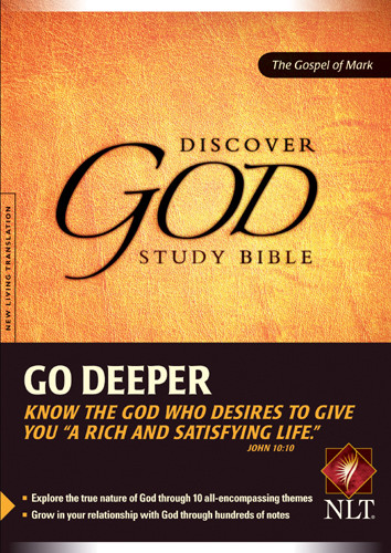 Discover God Study Bible: The Gospel of Mark - Softcover