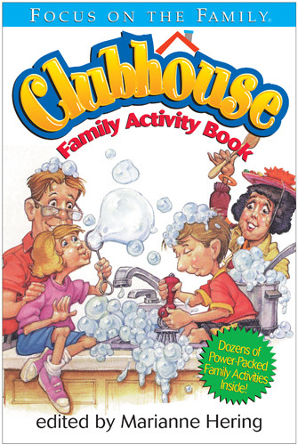 Clubhouse Family Activity Book - Softcover